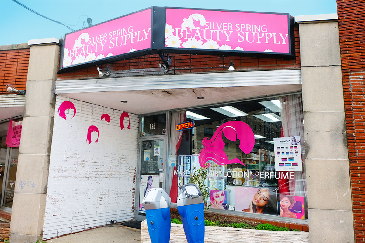 Discover Bonifant - Silver Spring Beauty Supply Storefront